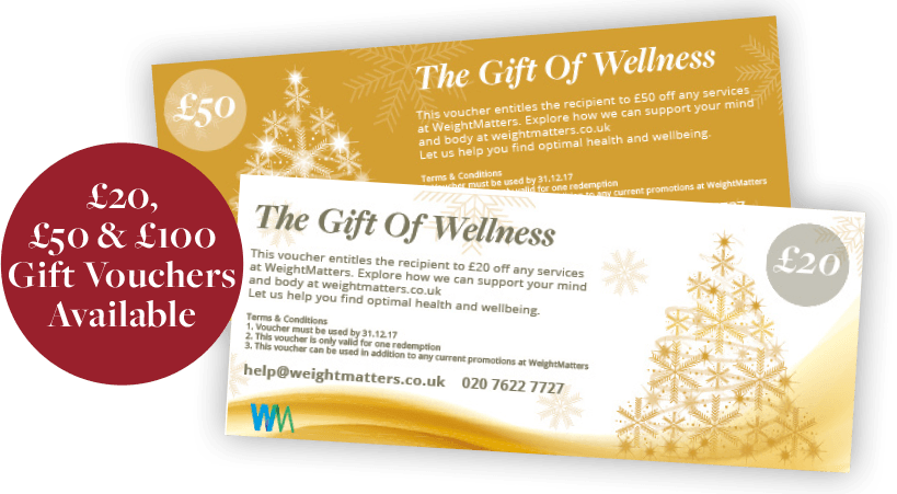 £20, £50 and £100 Gift Vouchers Available