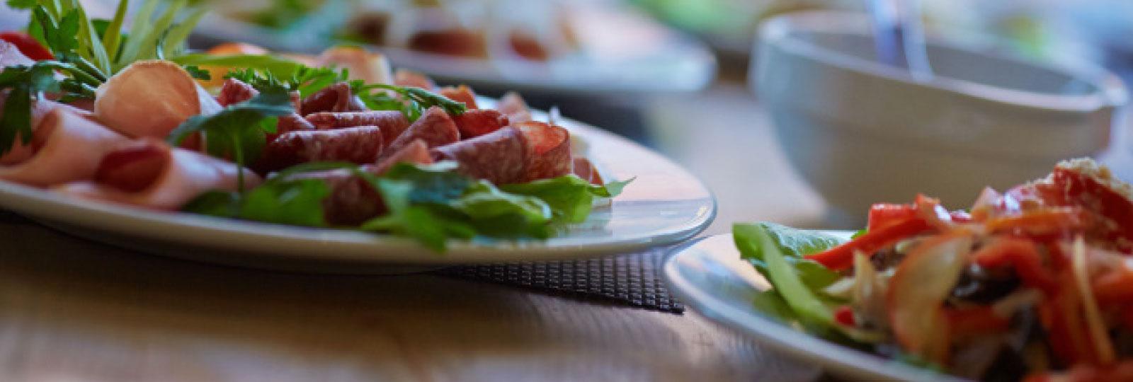 Cutlery on a table