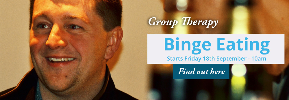 Group Therapy - Binge Eating - Starts Friday 18th September - 10am