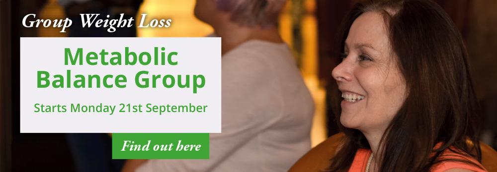 Metabolic Balance Group - Starts Monday 21st September